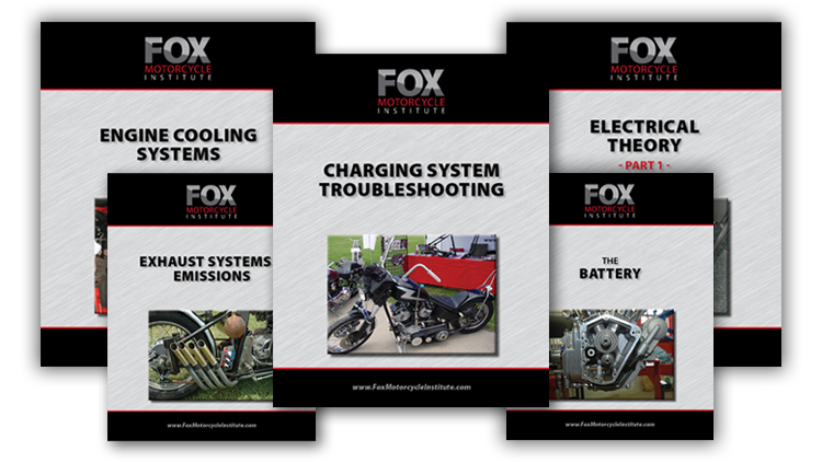 motorcycle repair course textbooks