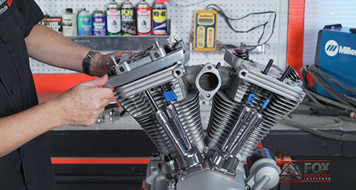 Harley Engine Top-End Teardown – Video 2
